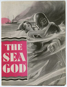 Vintage 1930 Paramount Pictures Advertising Herald The Sea God Fay Wray Pre-Code