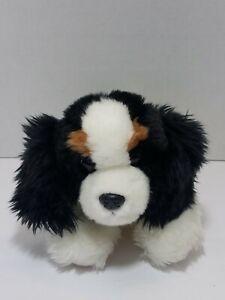 "Aurora King Charles Cavalier Spaniel Puppy Dog Plush Stuffed Animal Toy 10"""