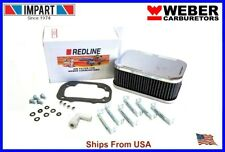 Weber Redline 32/36 DGV DGAV DGEV 38 DGAS Air Filter Cleaner 2 5/8  99217.332S