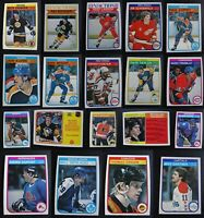 1982-83 O-Pee-Chee OPC Hockey Cards Complete Your Set Pick From List