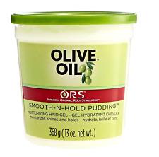 Organic Root Ors aceite de oliva liso-n-sostenga Pudding 368g * Reino Unido *