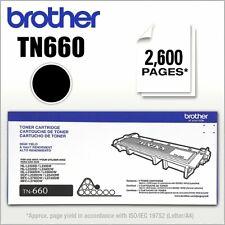 Brother TN660 Original Toner Cartridge-OEM-New-Sealed Box