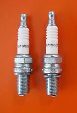 DUCATI 748/ 916 BIPOSTO/888 STRADA  SPARK PLUGS-PAIR-ORIGINAL FACTORY FITMENT