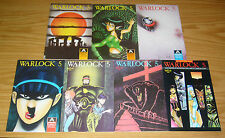Warlock 5 II #1-7 VF/NM complete series BARRY BLAIR aircel comics set 2 3 4 5