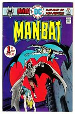 MAN-BAT #1 JAN 1976 FINE- 5.5 DC COMICS