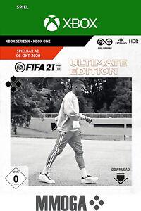 FIFA 21 - Ultimate Edition - Xbox One Spiel Download Code - FIFA 2021 - DE/EU