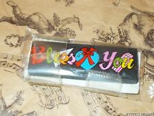 VINTAGE 80'S BLESS YOU COLOURFUL WORD BLOCK FUN ERASER SEALED IN PACK