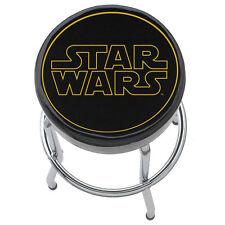 Plasticolor Star Wars Logo Padded Bar Stool Garage Kitchen Workbench Shop Seat