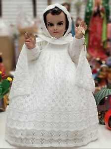 VESTIDOS DE NIñO DIOS TEJIDO COLOR BLANCO Vestido Niño Dios Baby Jesus Clothing