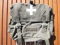 BW Kampftasche Brotbeutel Tasche Balkenkreuz Tragegurt Waschbeutel Combat Bag