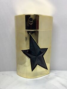 A Men Gold Limited Edition Thierry Mugler EDT MENS Refillable Spray 3.4 oz 100ml