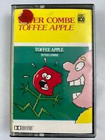 PETER COMBE TOFFEE APPLE CASSETTE TAPE rare Australian tape