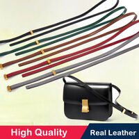 Real Leather Replacement Adjustable Crossbody Shoulder Handle Strap Purse
