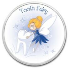 1oz Fine Silver Colorized Round Tooth Fairy Princess