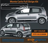 Skoda CItigo Monte Carlo Stripe Kit Stickers decals - Other colours available