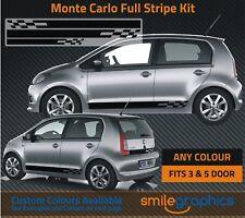 Skoda CItigo Monte Carlo Stripe Kit Stickers decals - Other colours available