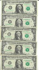 Rare US Star Dollar Bill Collectible Paper Money Small Size Note Collection Lot