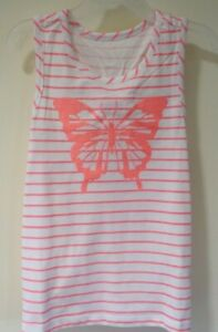 Brand New Epic Threads Pink Butterfly Top Girl's Size 6