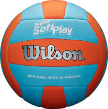 Wilson Super Soft Play Volleyball Ball Orange/Blue New