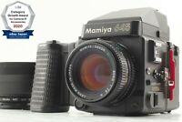 【MINT】 Mamiya M645 Super + Sekor C 80mm f/2.8 N + Cap Hood From Japan 1239