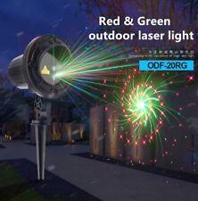 Xmas Outdoor Laser Projector New RG 20 Full Gobo Event Yard Landscape Light DJ Z