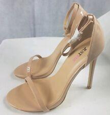 Just Fab Alla Nude Women's Stilettos Heels Ankle Strap UK Size 6 EUR 38.5  BNWB