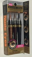 Physicians Formula Shimmer Strips Eyeliner Trio-Warm Nude Eyes 6243. New Sealed