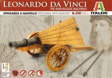 model kit Leonardo da Vinci SPINGARDA A MANTELLO Spingarde with Mantlet italeri