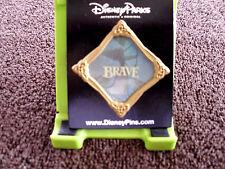 Disney * BRAVE PRINCESS MERIDA - FRAMED SILOHOUTTE * New on Card Trading Pin