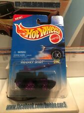 Hot Wheels Rocket Shot #491 Black Purple Tank Main Line NIP 1998