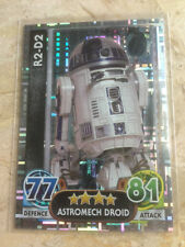 STAR WARS Force Awakens - Force Attax Trading Card #201 R2-D2