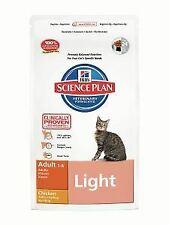Hills Science Plan Cat Adult Dry Chicken Light 10kg - 188120