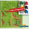 Carcassonne Erweiterung  - Halb so wild I -  Carcassonne Extention + 6 Figuren !