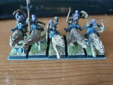 Warhammer Fantsay Battle 9th Age Chaos Dwarf Dwarves Hobgoblins on Wolves x5