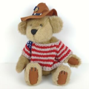 """Pickford Bears The Brass Button Bear Collection Cody Jointed No Tag 11"""" Cowboy"""