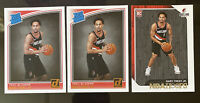 2018/19 Gary Trent Jr Rookie Lot (3) - NBA Hoops And Donruss Rated Rookie