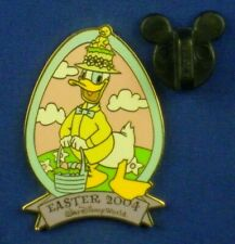 Donald Duck Easter 2004 Finest Collection Basket Eggs Chick Pin # 29010