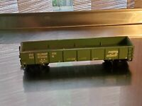 "HO Scale ""Burlington Northern"" 40' Open Gondola Freight Train Car BN #553557"