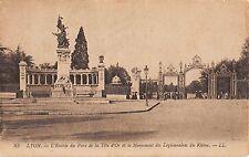 BR72696 lyon l entree du parc de la tete d or et le monument  france