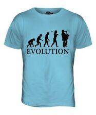SAXOPHONE PLAYER EVOLUTION OF MAN MENS T-SHIRT TEE TOP GIFT MUSICIAN