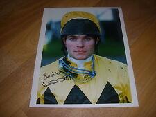 Adrian SMITH  Horse Racing NH Jockey  6/01/95  Original Hand SIGNED Press Photo