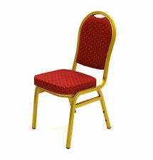 CYA-05 Red Aluminium Banquet Chairs, Banqueting Chairs, Wedding Chairs