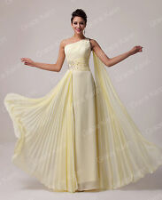 Long Maxi Wedding Evening Cocktail Gown Ball Party Bridesmaid Formal Prom Dress