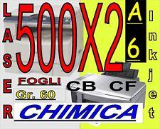 CARTA CHIMICA RICEV FISCALI X STAMPANTI LASER INKJET A6