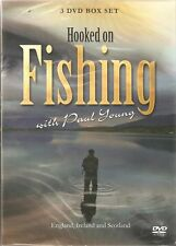 HOOKED ON FISHING 3 DVD SET SCOTLAND IRELAND & ENGLAND WITH PAUL YOUNG