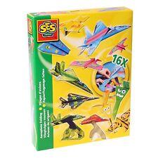 SES 00852 Bastel-Set Kreativ-Packung FLUGZEUGE FALTEN