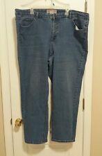 Just My Size JMS Stretch Classic Skinny Denim Jeans Medium Wash 26W 42 x 27.5