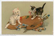 Palette à peinture .Chats . Cats . Katze . Gato . 貓 . 猫