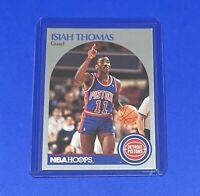 1990-91 NBA Hoops Basketball Isiah Thomas Detroit Pistons #111 HOF 🔥