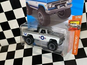 "Hot Wheels 1970 Dodge Power Wagon - ""UNITED STATES AIR FORCE"" custom"